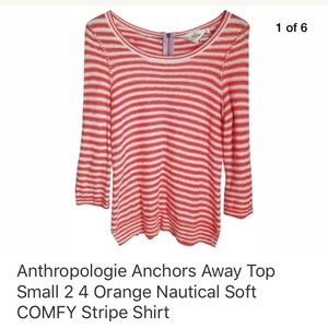 Anthropologie Anchors Away Top